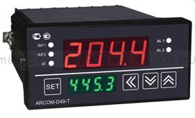 Терморегулятор c временными переходами
