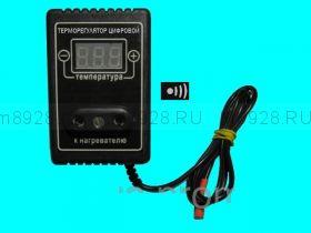 Терморегулятор для инкубатора тиристорный ТРЦ-1,2 с звуковым сигнализатором отклонения температуры