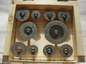33385 Набор отрезной круг мини с алмазным напылением